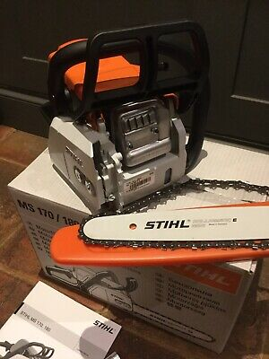 """View Details Stihl MS170 Chainsaw With 12"""" Bar And Chain • 195£"""