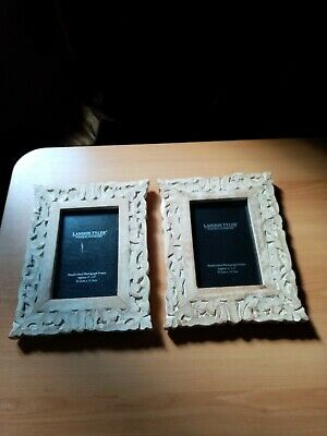 £7.50 • Buy Landon Tyler Handcrafted Picture Frames X2 / Handcrafted Picture Frames / Frames