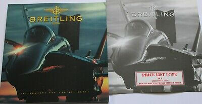 £4.99 • Buy Breitling Wrist Watch Dealer Catalogue With Price List 97/98 Good Used Condition
