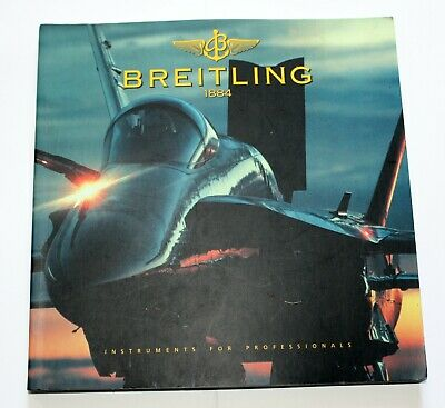 £4.99 • Buy Breitling Wrist Watch Dealer Catalogue 1997 Good Used Condition