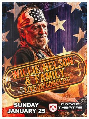 $15.94 • Buy Willie Nelson - POSTER - Country Legend Family LIVE Concert - WALL ART PRINT