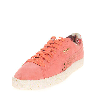AU20.67 • Buy PUMA X CAREAUX Suede Leather Sneakers EU 38 UK 5 US 7.5 Perforated Logo Low Top