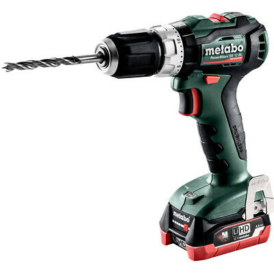 £139 • Buy Metabo Powermaxx SB12BL 12V Brushless Combi Drill With 2x4.0Ah Batteries In Case