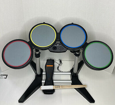 £50.93 • Buy Rock Band Playstation 3 PS2 PS3 PS4 822148 Harmonix Wired Drum Set Guitar Hero