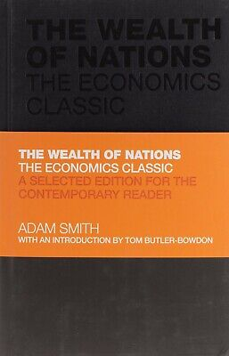 AU22 • Buy The Wealth Of Nations: The Economics Classic By Adam Smith (Hardcover)