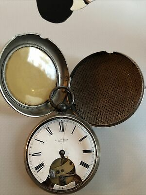 £24.99 • Buy Antique Pair Cased Silver Pocket Watch 1873 Spare Repair Leopold Rombach Glasgow