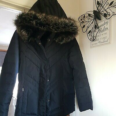 £10 • Buy Centigrade Black  Puffer Coat Size Xs Very Warm. In Excellent Used Condition