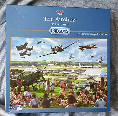 £4.50 • Buy Gibsons G6168 The Airfield 1000pc Jigsaw Puzzle