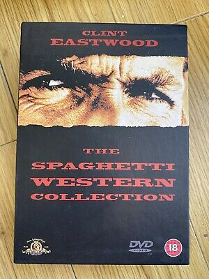 £4.99 • Buy Clint Eastwood - The Spaghetti Western Collection DVD Set