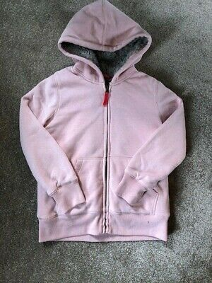 £5.68 • Buy Mini Boden Sherpa Lined Hoodie, Pale Pink, Age 9-10, Very Good Condition