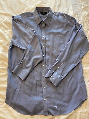 """£10.99 • Buy Marks And Spencer M&S 'Collection' Men's Shirt Size 19"""" Collar BNWOL"""