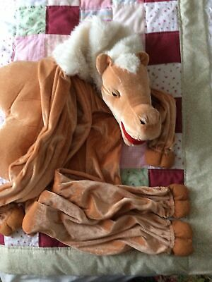 """£2.50 • Buy A Wicked Costume Ltd Camel Outfit.7-8 Yr Old Ideal For Nativity.40"""" Sho-ankle"""