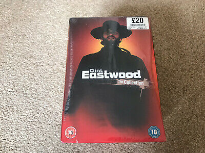 £4.99 • Buy Clint Eastwood Collection | 8 DVD Box Set New/sealed