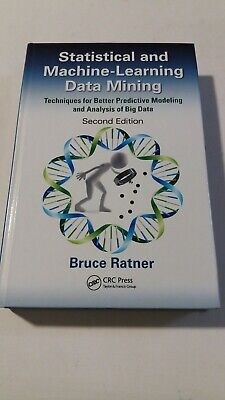 £28.99 • Buy ❤BRAND NEW & UNUSED❤ Statistical And Machine-Learning Data Mining CRC Press❤NEW❤