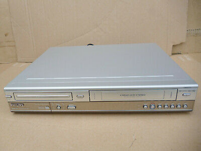 £74.99 • Buy Philips VCR DVD Video Recorder DVDR3320V Copy VHS To DVD, No Remote, Working
