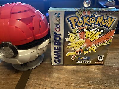 $200 • Buy Pokemon: Gold Version (Game Boy Color, 2000) Authentic W Box And Inserts