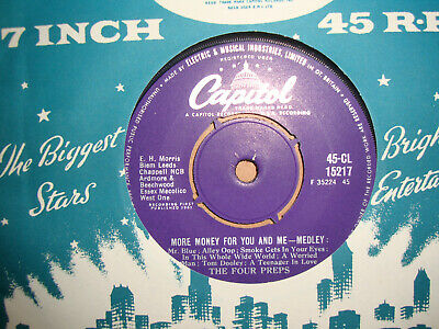 £2.99 • Buy The Four Preps,  More Money For You And Me,  Capitol Records 1961 Ex+