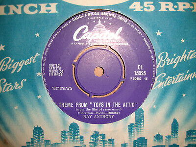£2.49 • Buy Ray Anthony,  Toys In The Attic,  Capitol Records 1963 Ex/ex+