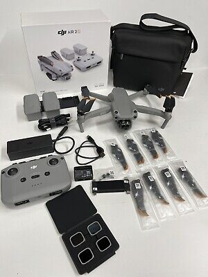AU1517.96 • Buy DJI Air 2S Fly More Combo Drone  Excellent Condition Used 4 Times Only
