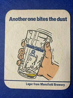 £3.99 • Buy Beer Mat Coaster - Two Sided - Mansfield Brewery   (ff265)