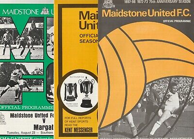 £3.50 • Buy Maidstone United FC Home Programmes 1970s