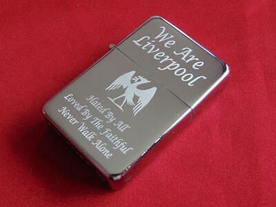 £10 • Buy Liverpool Engraved Lighter With Gift Box - FREE ENGRAVING