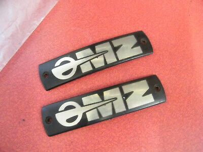 £12 • Buy 2-Tank Badges For MZ Motorcycle