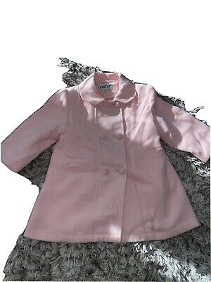 £4 • Buy Couche To Girls Pink Coat 18-24 Month