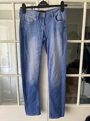 £11 • Buy NEXT PETITE RELAXED SKINNY JEANS SIZE 8 Ladies Blue