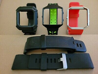 AU13.79 • Buy Check It.lot 1 Fitbit Blaze Used Large Replacement Bands Frames And Charger Wow