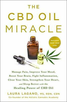 AU31.42 • Buy Cbd Oil Miracle: Manage Pain, Improve Your Mood, Boost Your Brain, Fight Inflamm