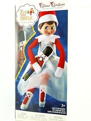 AU29.99 • Buy Claus Couture Collection The Elf On The Shelf Christmas Tradition Snowy Sugar