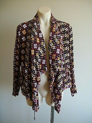 AU12.95 • Buy Lovely Tie Top Jacket  By Tigerlily, Size 10, Ex Cond, Uneven Hem