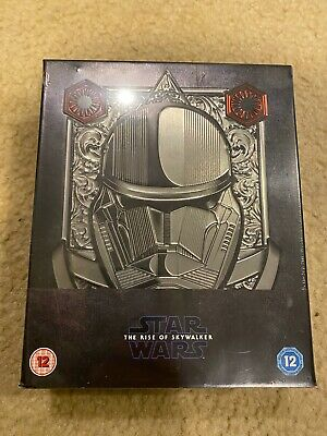 AU199.72 • Buy Star Wars Rise Of Skywalker Zavvi Exclusive Collector's Edition 3D Blu-ray NEW