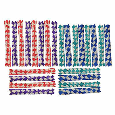 £5.76 • Buy Chinese Bamboo Finger Trap Finger Trap Natural With Natural Bambo For Bird Toys