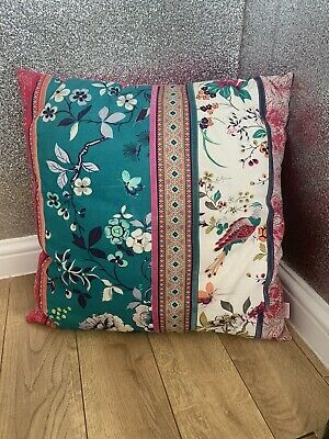 £12.99 • Buy Butterfly Home Cushion By Matthew Williamson  Patterned Oriental Teal Pink