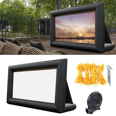 AU313 • Buy Inflatable Projector Screen 3mx5m Outdoor Movie Screen With Washable Air Blower