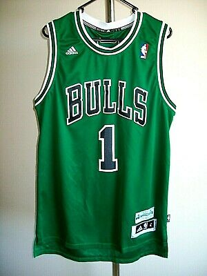 AU14.95 • Buy  No 1, ROSE, BULLS BASKETBALL JERSEY NBA  MENS L. VG COND. SPECIAL EDITION