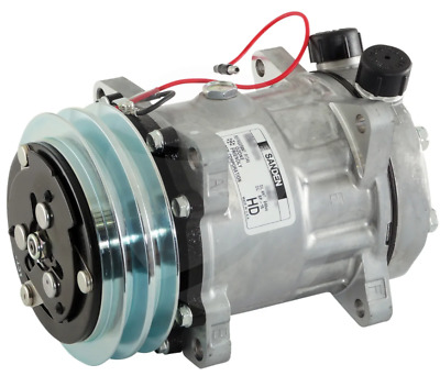 AU650 • Buy Sanden Compressor 12v, 2a Fits New Holland L75 Tractor  Ford 5635  Sd7h15 Hd