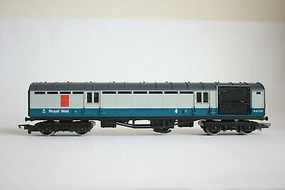 £25 • Buy Hornby R.416 Blue & Grey Operating Mail Coach BR Livery Box Is Tatty.