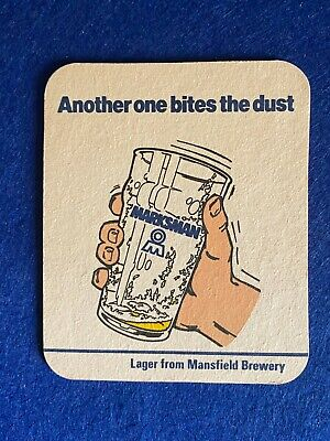 £3.99 • Buy Beer Mat Coaster - Two Sided - Mansfield Brewery Another One Bites    (ff267)