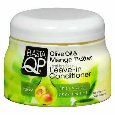 £7.19 • Buy Elasta QP Olive Oil & Mango Butter Anti-Breakage Leave-In Conditioner 425g