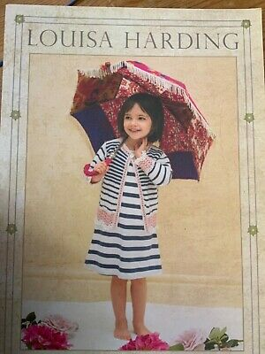 £2.50 • Buy Louise Harding Knitting Patterns Book Cassia Children's Collection