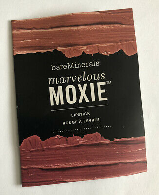 £3.50 • Buy Bare Minerals Marvelous Moxie Lipstick Sample Shades: Get Ready Live Large Pink