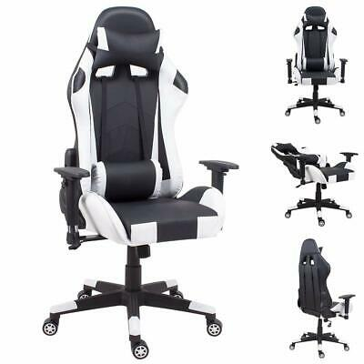 £59.79 • Buy Gaming Chair Leather Office Sports Racing Computer Desk Recliner 24 HR DELIVERY
