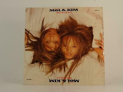 £3.41 • Buy MEL AND KIM THAT'S THE WAY IT IS (3) (78) 2 Track 7  Single Picture Sleeve SUPRE