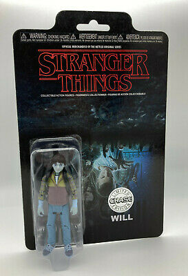 AU17.87 • Buy Stranger Things Will Upside Down CHASE Reaction Action Figure Funko Super 7