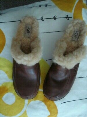 £21.93 • Buy NWOT UGG Shearling / Leather Clogs Sz 8