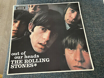 £10 • Buy Rolling Stones 'out Of Our Heads' 1965 French Mono Vinyl Lp Album On Decca