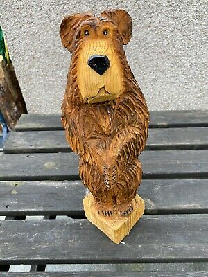 £44.99 • Buy Chainsaw Carving Bear Carving Animal Carving Wood Carvings